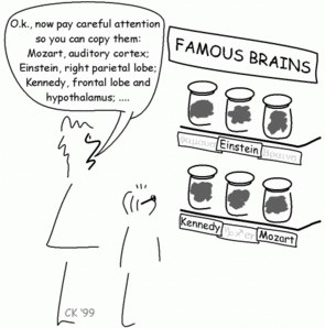 Karikatur eins